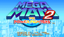 Mega Man 2 : The Power Fighters title screenshot