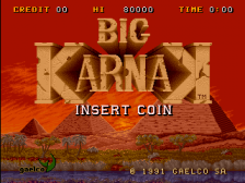 Big Karnak title screenshot