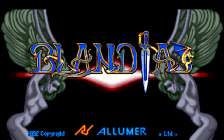Blandia title screenshot