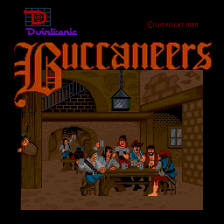 Buccaneers title screenshot