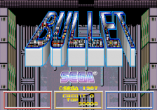 Bullet title screenshot