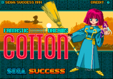 Cotton title screenshot