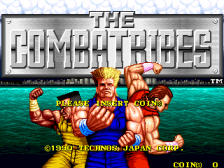 Combatribes, The title screenshot
