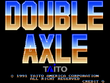 Double Axle title screenshot
