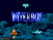 Diver Boy title screenshot