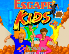 Escape Kids title screenshot