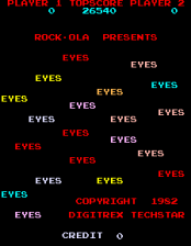 Eyes title screenshot