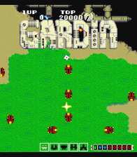 Gardia title screenshot