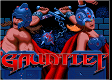Gauntlet title screenshot