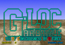 G-LOC Air Battle title screenshot
