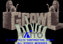 Growl - Runark title screenshot