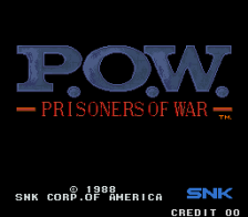 P.O.W. : Prisoners of War title screenshot