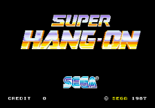 Super Hang-On title screenshot