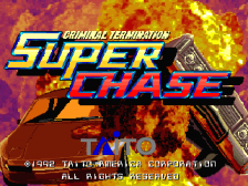Super Chase - Criminal Termination title screenshot