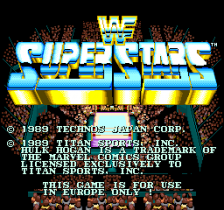 WWF Superstars title screenshot