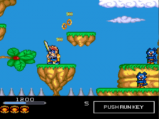 Chiki Chiki Boys title screenshot