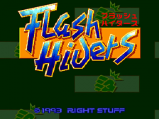 Flash Hiders title screenshot