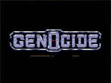 Genocide title screenshot