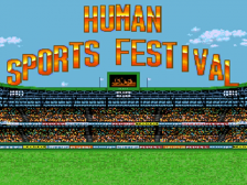 Human Sports Festival title screenshot