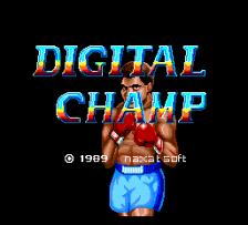 Digital Champ title screenshot