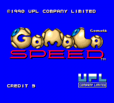 Gomola Speed title screenshot