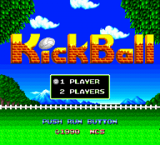 KickBall title screenshot