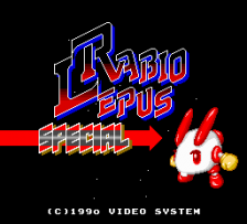 Rabio Lepus Special title screenshot