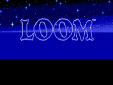 Loom title screenshot