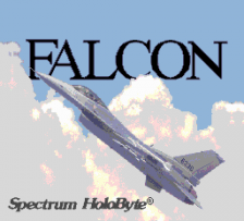 Falcon title screenshot