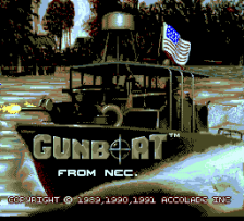 Gunboat title screenshot