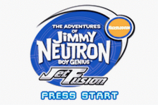 Adventures of Jimmy Neutron Boy Genius, The - Jet Fusion title screenshot