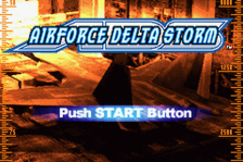 AirForce Delta Storm title screenshot