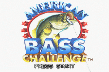 American Bass Challenge title screenshot