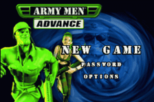 Army Men Advance title screenshot