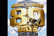 Around the World in 80 Days title screenshot