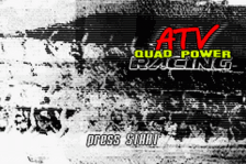 ATV - Quad Power Racing title screenshot