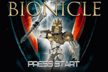 Bionicle title screenshot