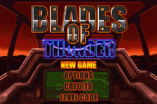 Blades of Thunder title screenshot