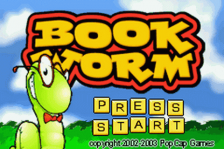 Bookworm title screenshot