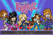 Bratz title screenshot