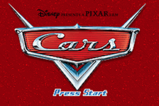 Cars title screenshot
