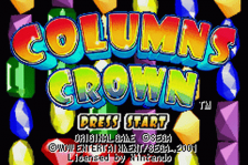 Columns Crown title screenshot