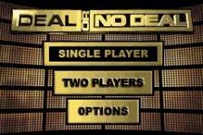 Deal or No Deal title screenshot