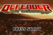 Defender title screenshot