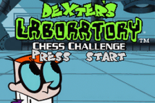 Dexter's Laboratory - Chess Challenge title screenshot