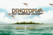 Dinotopia - The Timestone Pirates title screenshot