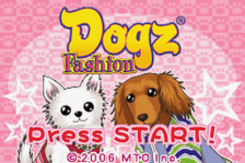Dogz - Fashion title screenshot