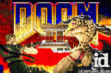 Doom II title screenshot