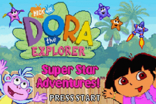 Dora the Explorer - Super Star Adventures! title screenshot