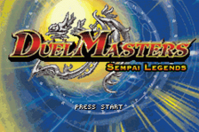 Duel Masters - Sempai Legends title screenshot